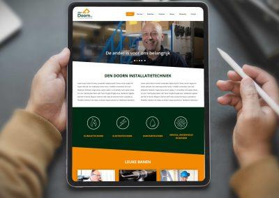 Den Doorn installatie techniek website