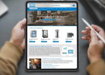 Eissens FSE webshop en nieuwsbrief