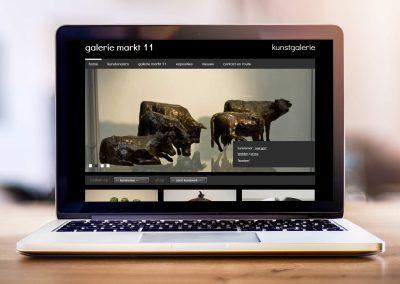 Galerie markt 11 website