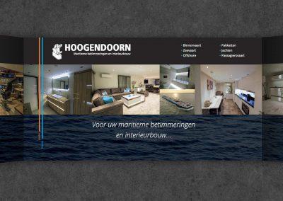 Hoogendoorn MBI huisstijl, stand, advertentie en meer
