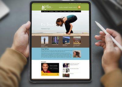 Kiflow Tibetaanse Yoga website