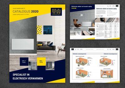 Masterwatt, logo, huisstijl, catalogus en infographics