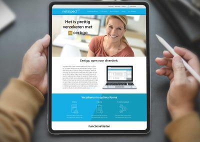 Netaspect huisstijl, website en whitepapers