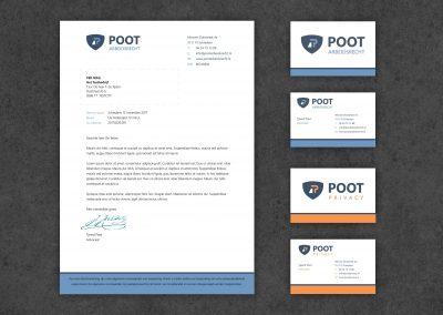 POOT logo, huisstijl en website