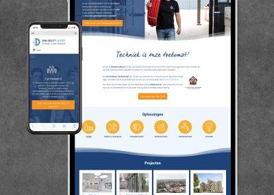 Websites Van Delft Groep